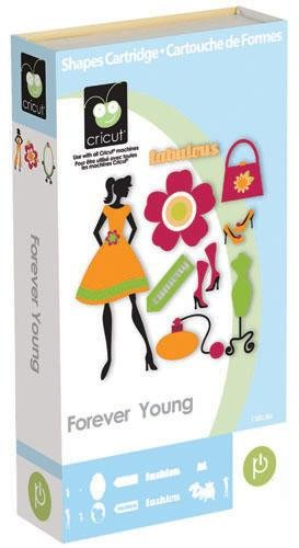 Cricut Shapes Cartridge Forever Young By The Each