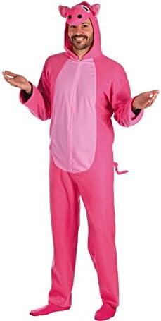 Disfraz de Cerdito Rosa para hombre: Amazon.es: Juguetes y juegos