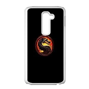 LG G2 Cell Phone Case White Mortal Kombat JNR2211510