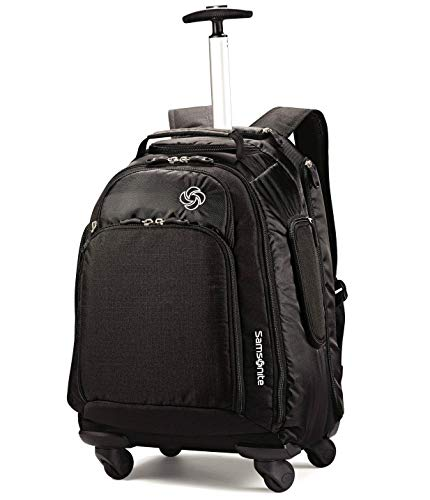 (Samsonite MVS Spinner Backpack - 20 Inch (Black))