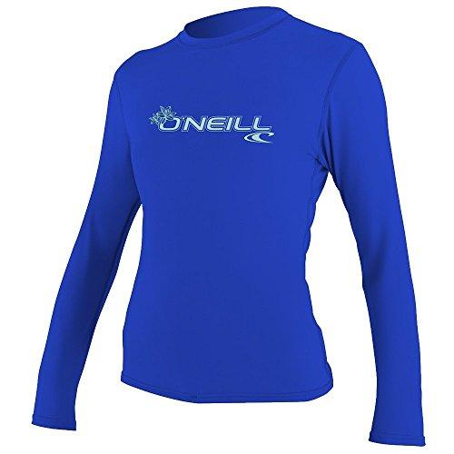 O'Neill Wetsuits Women's Basic Skins Upf 50+ Long Sleeve Sun Shirt