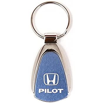 Keychain /& Keyring with Mustang Logo 50-year Blue Teardrop