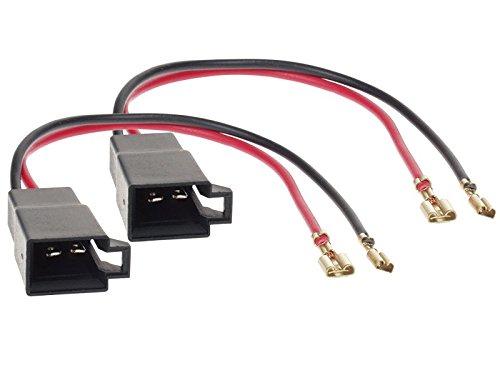 Lautsprecheradapterringe 165 mm+Kabeladapter f/ür Seat Altea//XL vordere T/üren