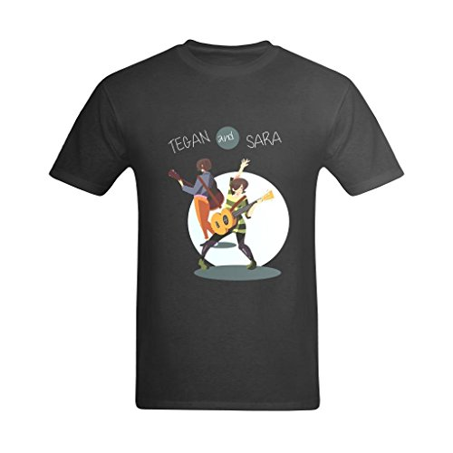 LittleArt Men's Tegan And Sara T-Shirt - Style T Shirts US Size 4 -