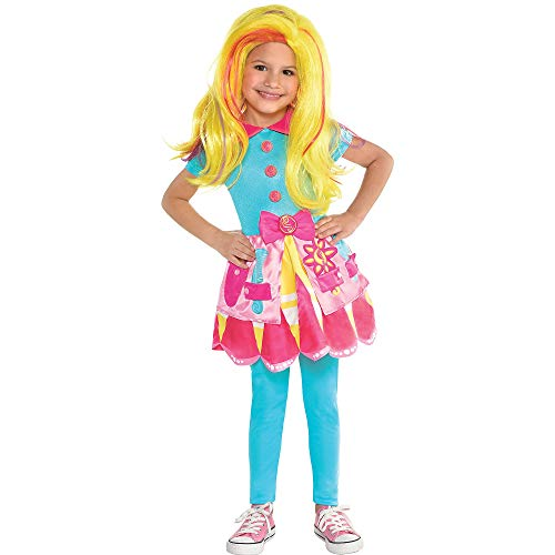 Amscan Sunny Day Sunny Halloween Costume for Toddler Girls, Small, with Included -