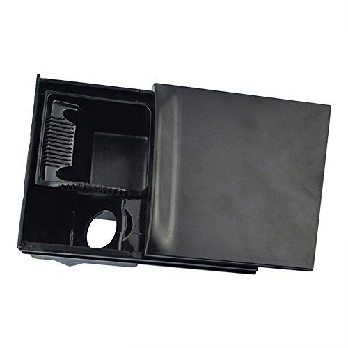 Console Ashtray Insert - runmade Black Front Console Ash Tray Ashtray Assembly with Black Insert 1J0 857 961G for VW Jetta Golf GTi Mk4