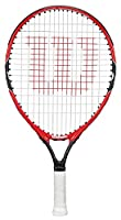 Wilson Kinder Schläger Federer Roger RKT, Rot/Grau, 19, 0887768298845