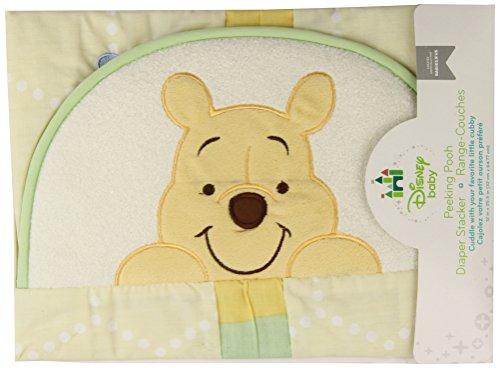 - Disney Winne The Pooh Plush Baby Decor Diaper Stacker Yellow