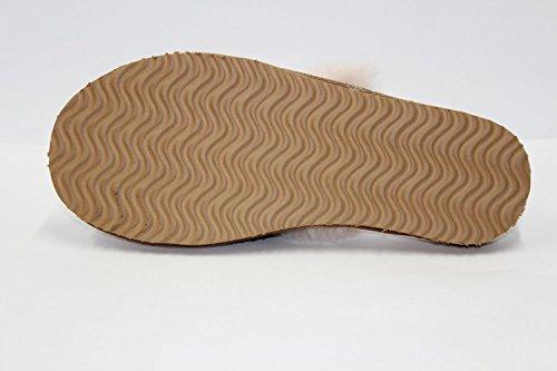Furfurmouton Zapatillas De Piel De Oveja Australianas Genuinas Zapatillas De Piel De Oveja De Oveja Para Hombre Con Zapatillas De Piel De Vaca Zapatillas De Piel De Oveja Premium Súper Gruesa Zapatillas De Piel De Oveja