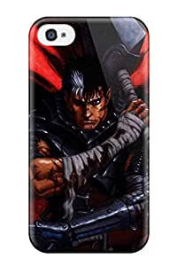 2015 EBNFPV0ZDLF1MFIV Tpu Shockproof Scratcheproof Berserk Hard Case Cover For Iphone 4/4s