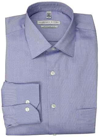 Geoffrey Beene Men's Regular Fit Pinpoint Dress Shirt, Sky Blue, 14.5 32-33