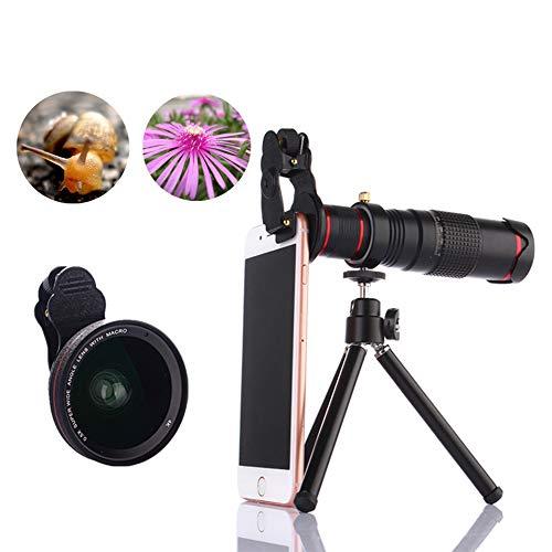 TONGTONG Cell Phone Camera Lens,22X High Definition Telescope Wide-Angle Micro-Range Set Portable Photo Camera Artifact…
