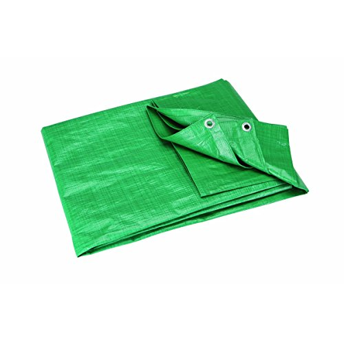 19 feet x 29 feet 4 in. Green/Farm All Purpose/Weather Resistant Tarp
