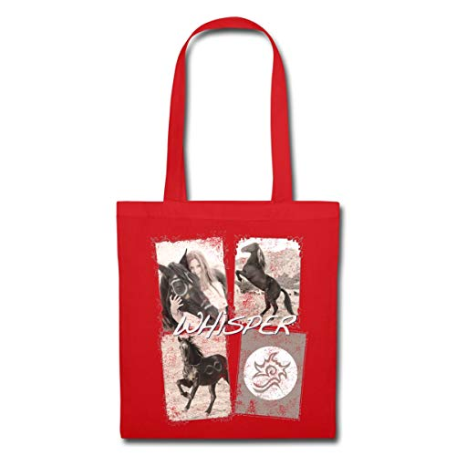 Collage Bag La Rouge Spreadshirt 3 Tote Chevauchée Sauvage Whisper cOqHyqW7