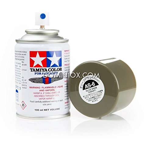 Tamiya 86506 AS-6 Spray Olive Drab (USAAF) 3 oz