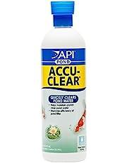 API POND ACCU-CLEAR Pond Water Clarifier 16-Ounce Bottle