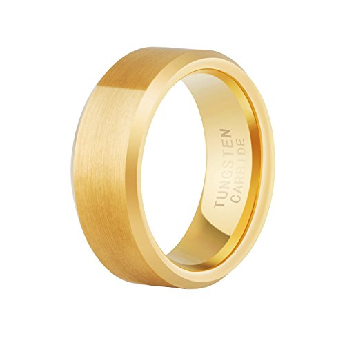 Brushed Comfort Plated Tungsten Carbide product image