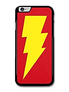 "AMAF ? Accessories Big Bang Theory Yellow Lightning and Red Background case for for iPhone 6 Plus (5.5"")"
