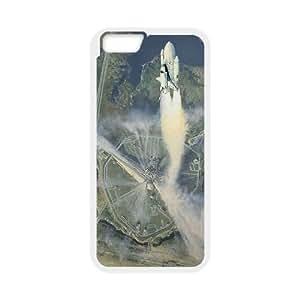 Custom Space Shuttle Launch Iphone6 Plus Cover Case, Space Shuttle Launch Customized Phone Case for iPhone 6 plus 5.5