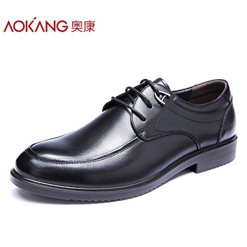 Aemember scarpe da uomo autunno inverno abiti Business cinturino scarpe Soft uomini indossare scarpe uomo nero ,40,
