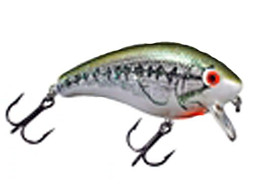 Mann's Bait Company Mid One Minus Fishing Lure (Pack of 1), 3/8-Ounce, Baby Bass - Baby Bass Oz 3/8