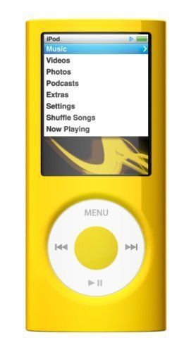 SwitchEasy Capsule Thins Crystal Case for iPod nano 4G - Yellow SW-CAP-THI-Y Switcheasy Capsule