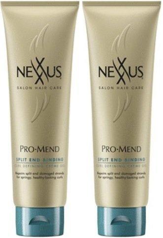 NEXXUS ProMend Split End Binding Curl Defining Crème Gel, 5.5 Fluid Ounce (2 Pack) (Nexxus Promend Split End Binding compare prices)