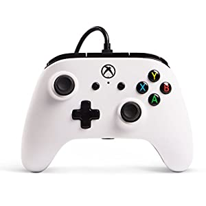 Best Epic Trends 41SZGz804DL._SS300_ Enhanced Wired Controller for Xbox One - White, Gamepad, Wired Video Game Controller, Gaming Controller, Xbox One, Works…