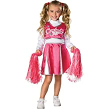 Rubies Costume Let's Pretend Child's Cheerleader Camp Costume, Toddler