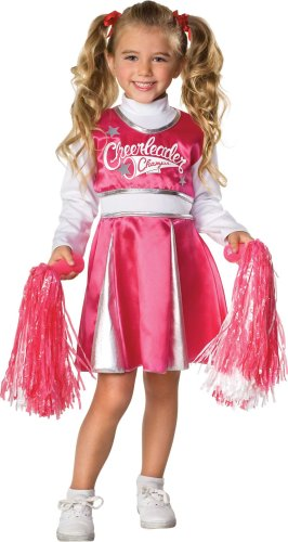 Let's Pretend Child's Cheerleader Camp Costume, Toddler (1 - 2 (Cheerleader Costume Toddler)