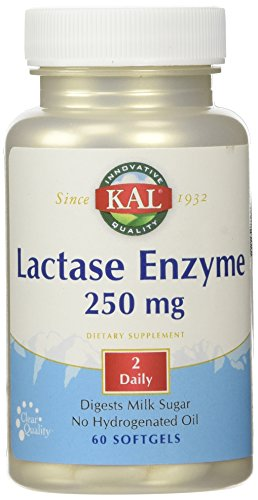 Lactase Enzyme 250 mg. – 60 Softgels
