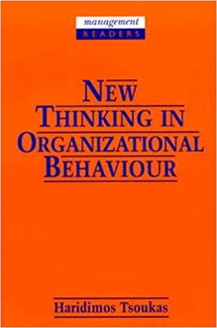 New Thinking In Organizational Behaviour From Social