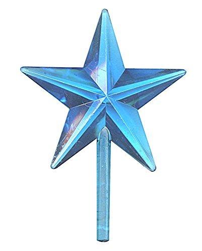 National Artcraft Stars for Ceramic Christmas Trees - Aqua (Pkg/5)