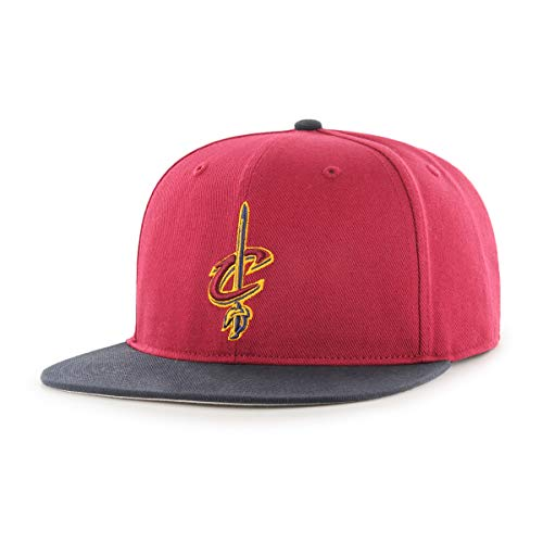 NBA Cleveland Cavaliers Gallant OTS Varsity Snapback Adjustable Hat, Cardinal, One Size (Cavaliers Cap Hat Cleveland)