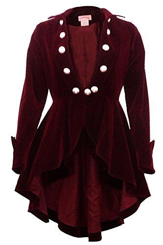 Velvet Vintage Coat - 2