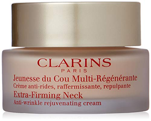 Clarins Extra-Firming Neck Anti-Wrinkle Rejuvenating Cream, 1.6 Ounce