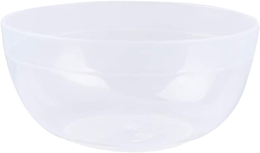 Transparent Exceart 10Sets Slime Bowl Slime Mixing Tool Makeup Bowl Crystal Mud Mixing Bowls Plastic Glue Mixer for Makeup Kids Crafts