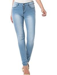 Women's Skinny Jean Leggings,High Waisted Stretch Slim...