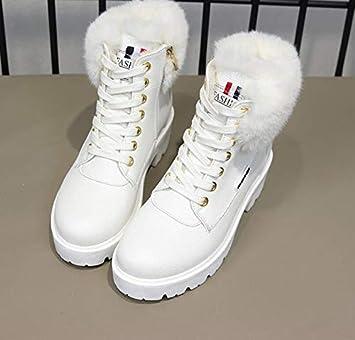 e107dac0 AGECC Botas para Mujer Botas para la Nieve duraderas, Hermosas y cómodas,  Tacones Gruesos