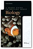 A Short Guide to Writing about Biology (9th Edition)