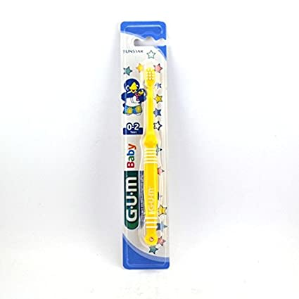 GUM-Cepillo de dientes 2 años Baby 213: Amazon.es: Salud y ...