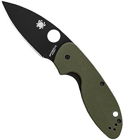 Amazon.com: Spyderco SC216GPGRBK-BRK - Cuchillos de caza ...