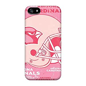 Excellent Iphone 5/5s Case Tpu Cover Back Skin Protector Arizona Cardinals