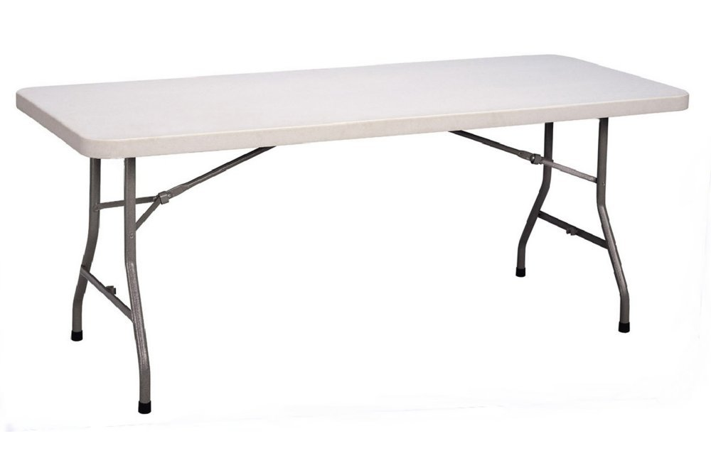 HUSKY HARDWARE 5ft 1.5m Folding Plastic Table Wilson & Fox