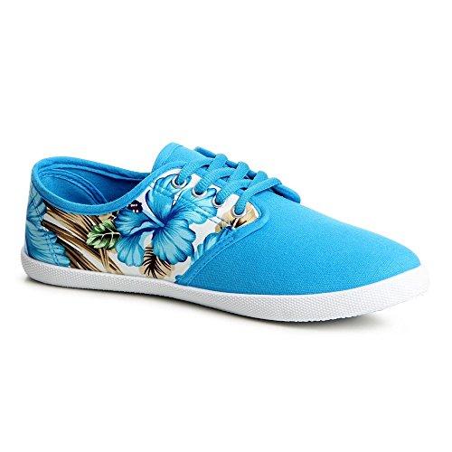 Sneaker Donna Azzurro Multicolore Topschuhe24 Multicolore Azzurro Topschuhe24 Topschuhe24 Sneaker Donna 1fSS0Pqn