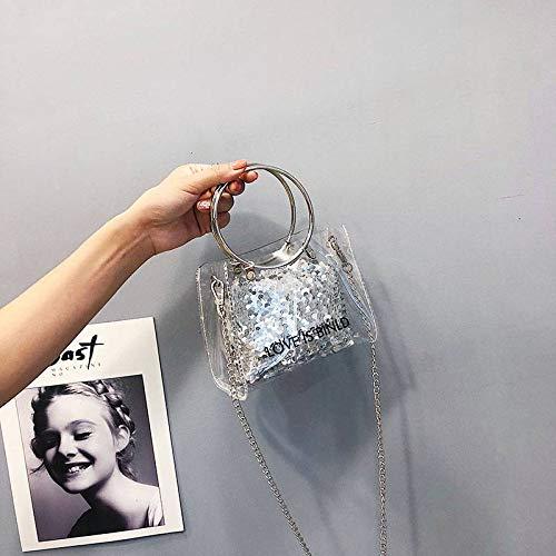 Para Cadena Saoga Personalidad Silver Diseño Niños De Bolsa 5wqfUz