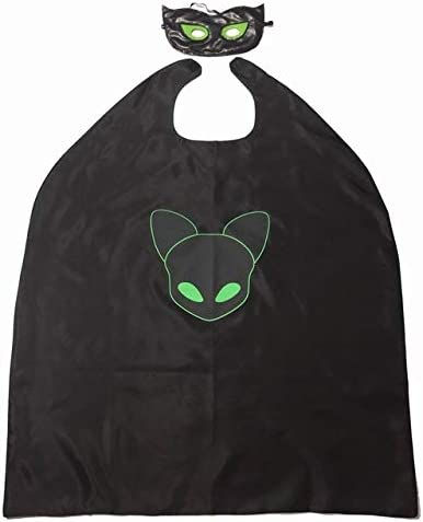 GJBXP Cat Noir Ladybug Disfraz Niños Adrien Marinette Niños ...