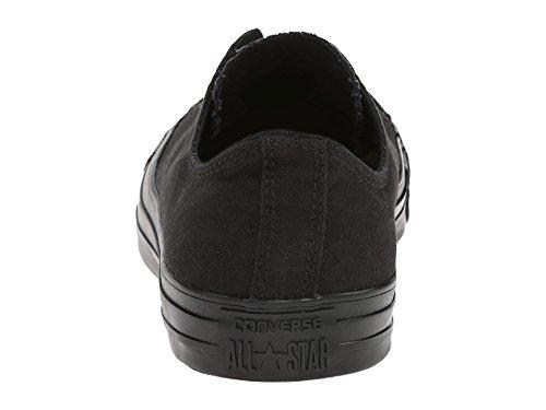 Zapatillas De Baloncesto Converse Unisex Chuck Taylor All Star Ox (5.5 B (m) Us Mujeres / 3.5 D (m) Us Me, Black Mono)