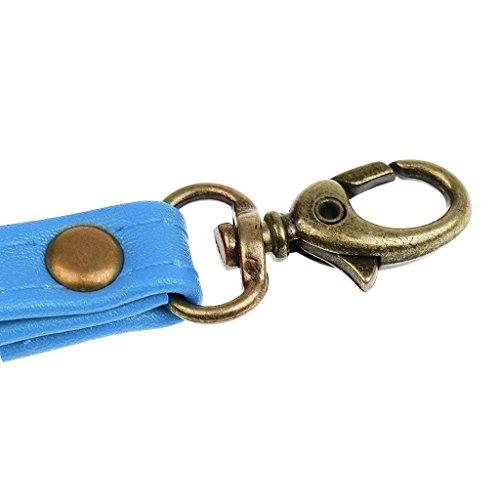 MagiDeal Riemen Straps für Taschen Handtasche Umhängetasche 17cm x 1.2cm - Weiß Blau