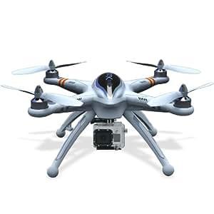 Walkera QR X350 Drone helicóptero con GPS, brújula, transmisor de vídeo en tiempo real FPV de 5,8 GHz, soporte para GoPro, transmisor de radio Devo F7, batería y cargador - OS024